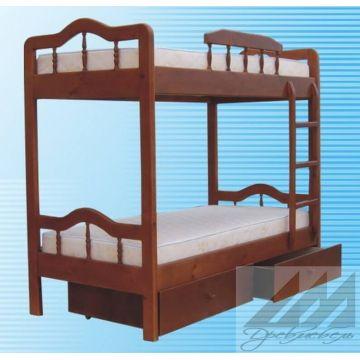 Кровать Мальвина двухъярусная