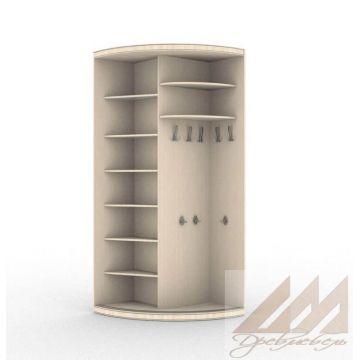 Наружный угловой шкаф