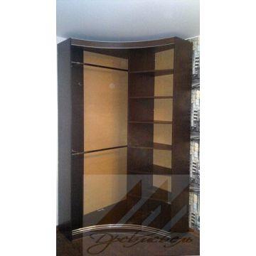 Маленький радиусный шкаф купе 1150х1150