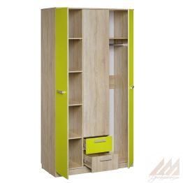 Шкаф для одежды Акварель НМ 013.08-01