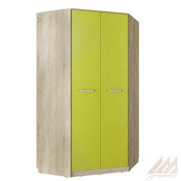 Шкаф угловой для одежды Акварель 013.04-04