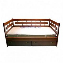 Кровать Сакура с тремя спинками