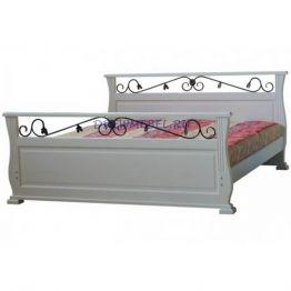 Кровать Венеция с ковкой