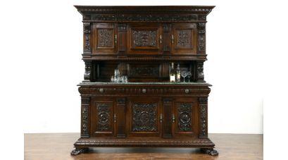 Мебель под старину и интерьер ренессанса