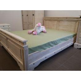 """Кровать 2-сп. """"Викинг 01"""" 160  (браширование)"""