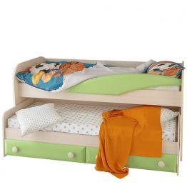 Кровать двухъярусная Корвет Ж.К. 4.5 №36 с выдвижным спальным местом