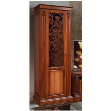 Шкаф с витриной Амелия КМК 0435.11