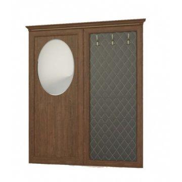 Вешалка с овальным зеркалом №221 Корвет 25