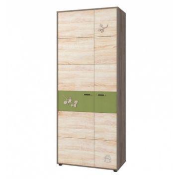 Шкаф 2-х дверный №129 Корвет МДК 4.14