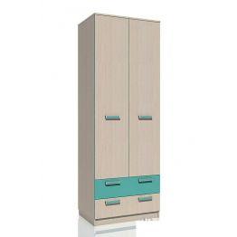 Шкаф для одежды Рико НМ 013.02-03 с ящиками