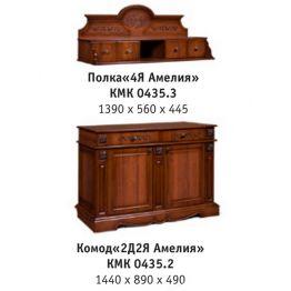 Комод 2-х дверный Амелия КМК 0435.2