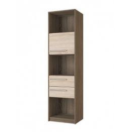 Шкаф для книг №99 Корвет МДК 4.11