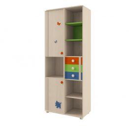 Шкаф для книг №106 Корвет МДК 4.13