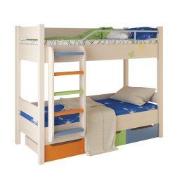 Кровать двухъярусная Корвет №3 с ящиками