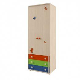 Шкаф 2-х дверный №111 Корвет МДК 4.13