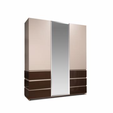 Шкаф для одежды 3-х дверный Хилтон КМК 0651.8