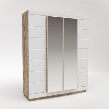 Шкаф для одежды 4-х дверный Роксет КМК 0554.10