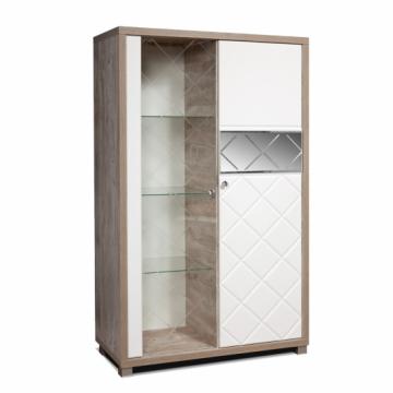 Шкаф с витриной Кристал КМК 0650.4(5)
