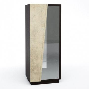 Шкаф с витриной Нирвана КМК 0555.4