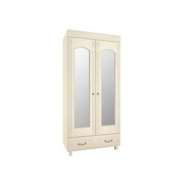 Элизабет ЭМ-16 шкаф платяной с зеркалом Береза