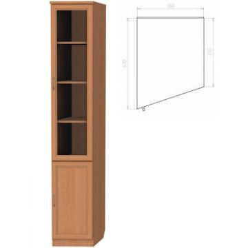 Шкаф для книг Гарун 201 левый