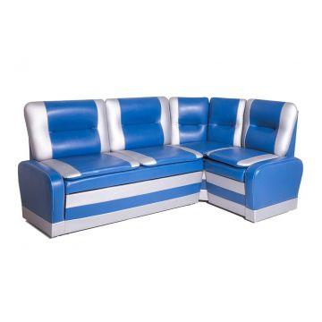 Кухонный угловой диван со спальным местом Маэстро кожзам 114-101