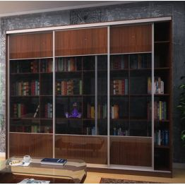 Шкаф-купе для библиотеки